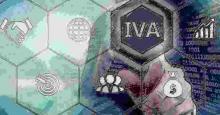Colmena con la palabra IVA