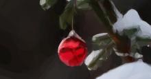 Bola decorativa para el Árbol de Navidad