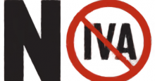 Señal de Prohibido el IVA