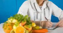 Dibujo de una Nutricionista preparando una receta