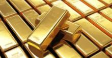 Dibujo sobre lingotes de oro