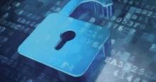 Candado protegiendo datos