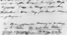 Dibujo de un escrito