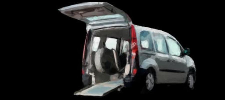 Dibujo de un Vehículo Adaptado para personas con movilidad reducida