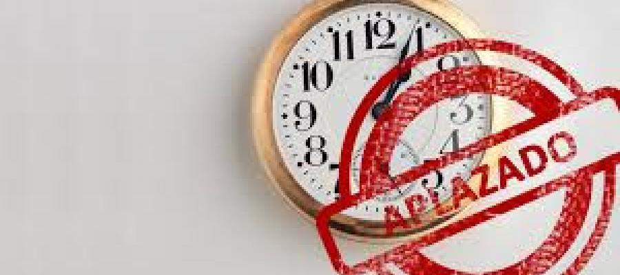 Reloj aplazado