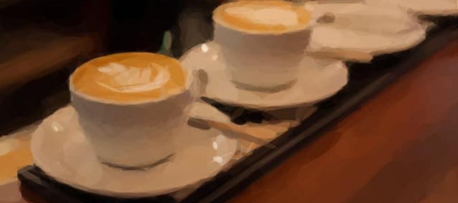 Varios Cafés servidos
