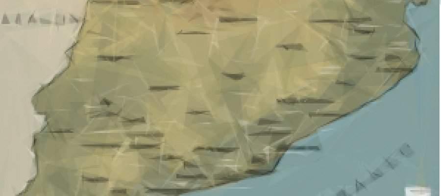Mapa Comarcas de Cataluña