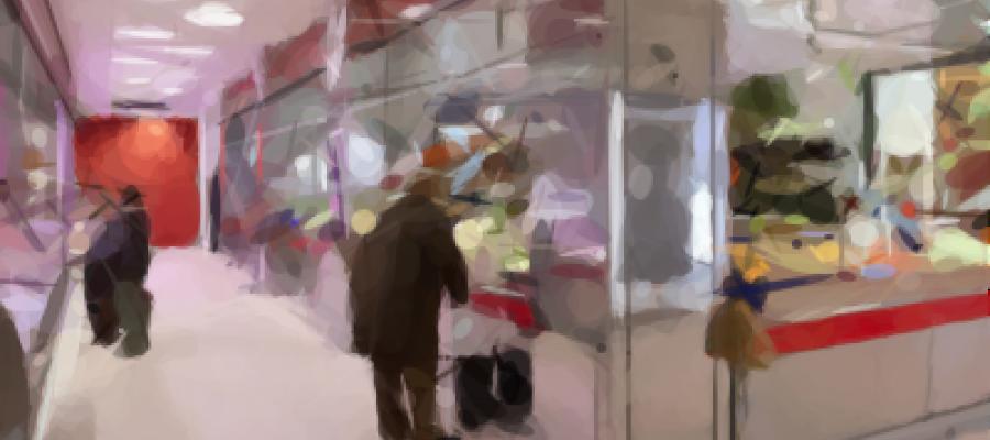 Dibujo de un Comercio