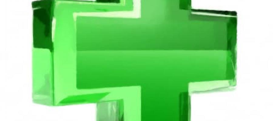 Cruz verde de farmacia