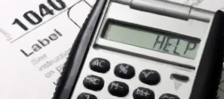 Help escrito en una calculadora