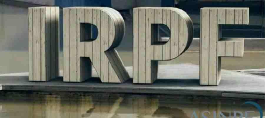 Imagen en 3D de la palabra IRPF