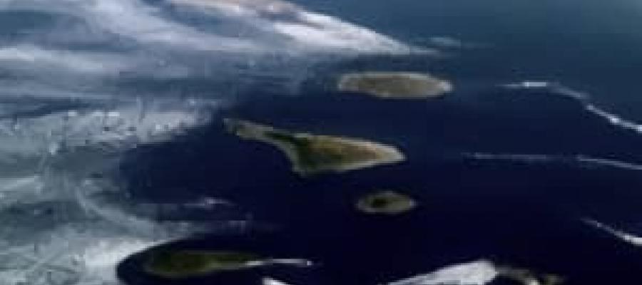 Foto Aérea de las Islas Canarias
