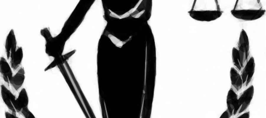 Dibujo de la diosa de la Justicia