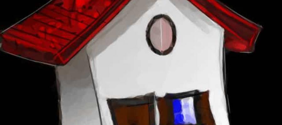 Dibujo de una casa